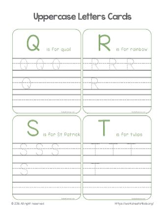 alphabet tracing printables