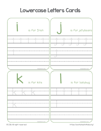 trace alphabet worksheet