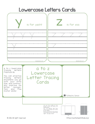 tracing letters printable