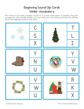christmas printable worksheets free