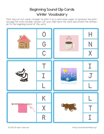 free christmas worksheet